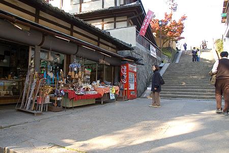 奈良紅葉風景-2