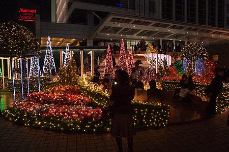 名古屋駅の冬の光景-8