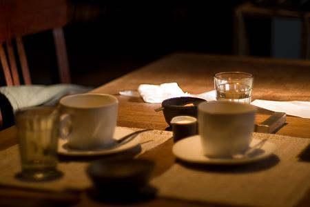 ジャズ喫茶といえばホットコーヒー