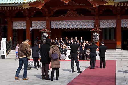 神田明神の結婚式