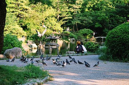 鶴舞公園スケッチ-5