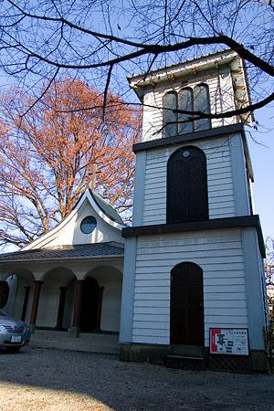 主税町教会の外観
