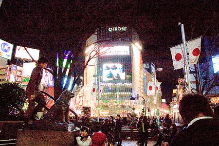 渋谷の夜-6