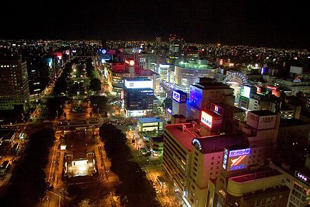 テレビ塔夜景