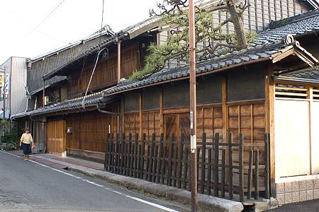 格子の町屋