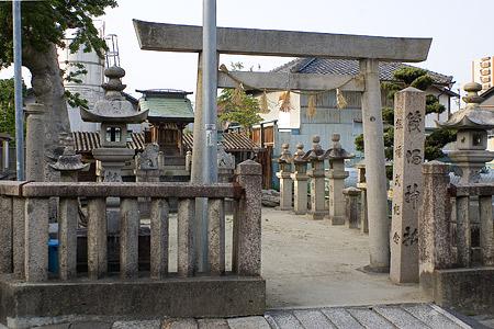津島本町筏場神社