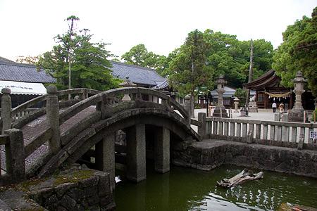 知立神社太鼓橋