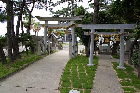 日間賀島神社仏閣編-1