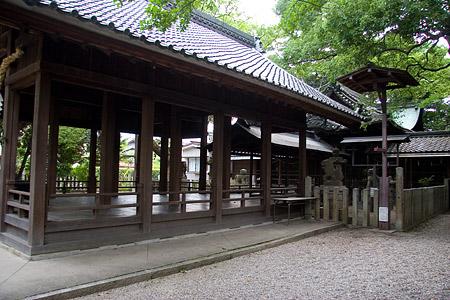 星神社拝殿