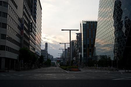 早朝名古屋駅表-7