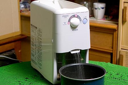 家庭用精米器