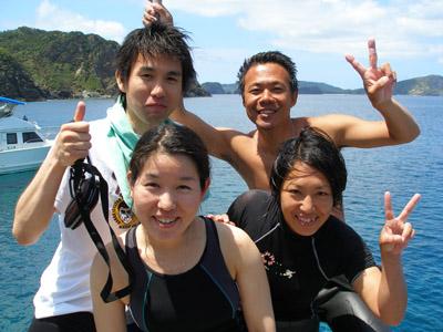 慶良間 ダイビング
