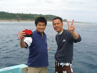 本島 ボートダイビング