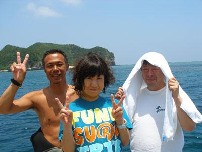 慶良間ボートファンダイビング