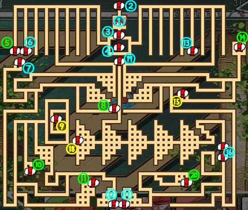 東方の迷宮3F3
