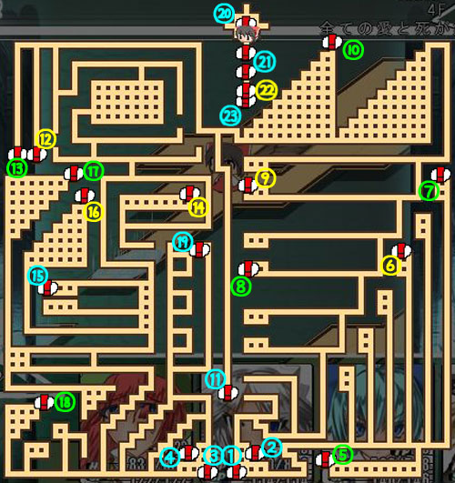 東方の迷宮4階3