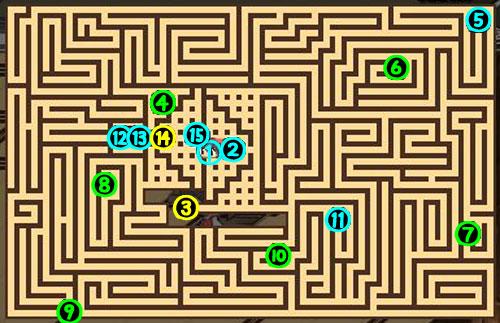 東方の迷宮9F