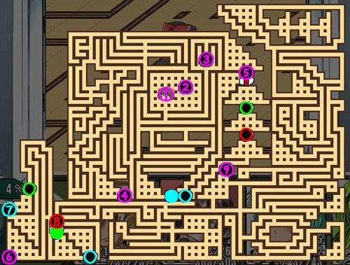 東方の迷宮10F階段スイッチ