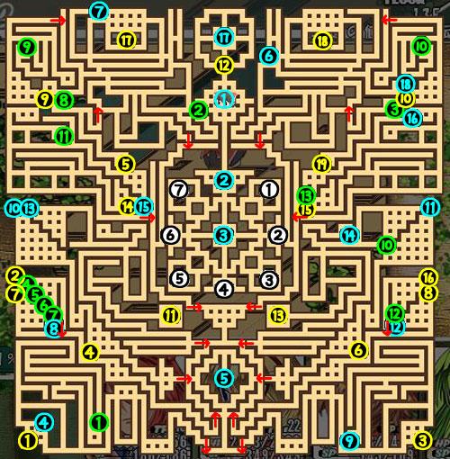 東方の迷宮13F