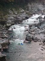 大滝の瀬 カヌー2