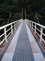 大滝の瀬 つり橋