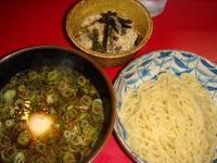 大吾郎商店 ひやあつつけ麺1玉&鶏飯