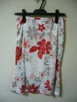 花柄・マーメイド・スカート