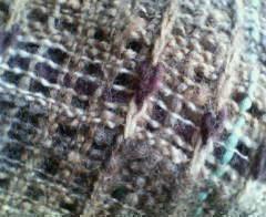 スケスケ織り編み