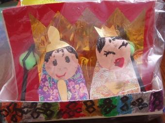 娘手作り雛人形