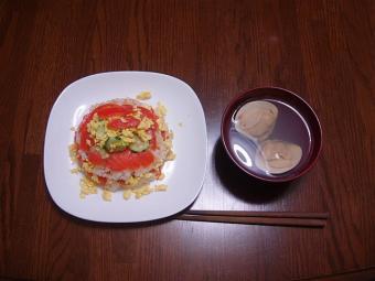 雛祭りご飯