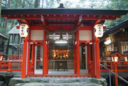 椿岸神社本殿