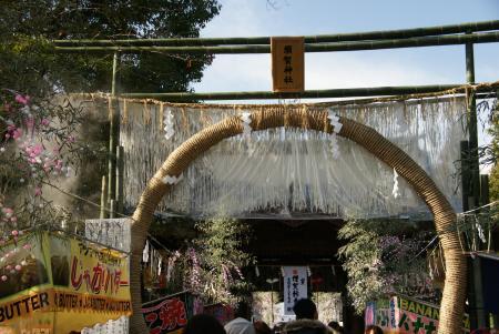 須賀神社茅輪