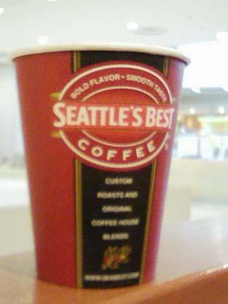シアトルコーヒーカップ