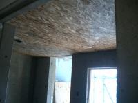 浴室天井OSB