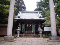 金山・新田神社本殿