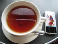 デッカイカップの紅茶