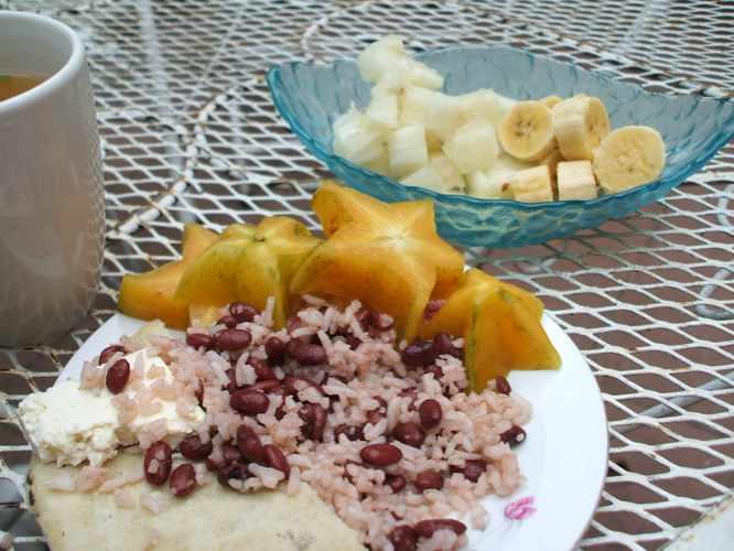 th_Nicaragua 朝食