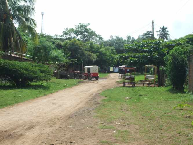 th_ニカラグア友人宅の道
