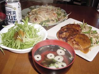 まこと作「ある日の夕食」