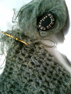 モヘア毛糸