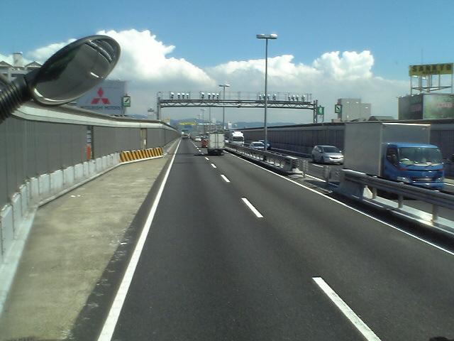 いつもの阪神高速道路