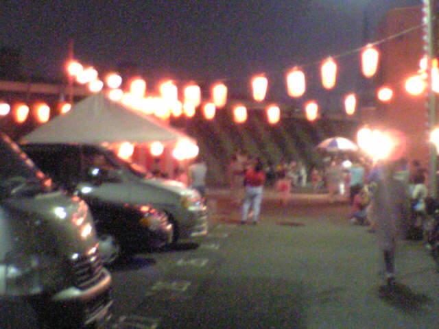 町会の盆踊り