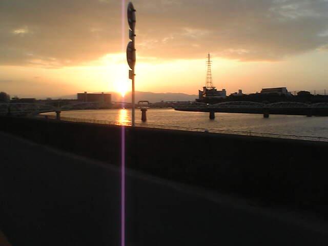綺麗やん、夕日・・・