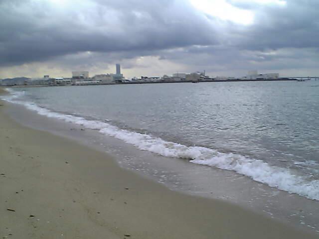久々の海!