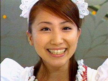 メイド宇恵ちゃん。