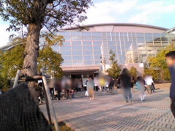 西尾市総合体育館。