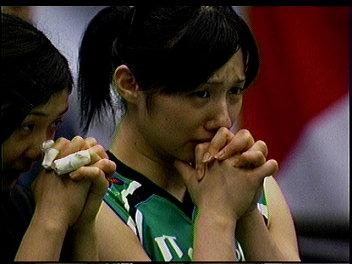 お祈り位田選手。