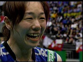 笑顔郁久美ちゃん。