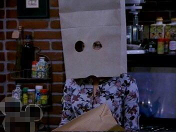 紙袋サブちゃん。