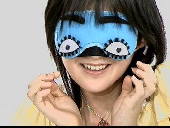 アイマスク桃ち。